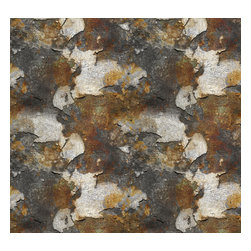 Removable Wallpaper-Rust Flakes-Peel & Stick Self Adhesive, 24x96 - Couture WallSkins.  Your wall will love you for this.