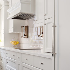 Transitional Kitchen by Elizabeth Metcalfe Interiors & Design Inc.