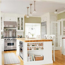 Kitchen and Dining Ideas / warm colored floor