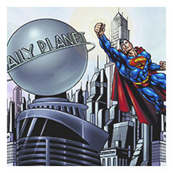 York Wallcoverings - Superman DC Comics Prepasted Large Wallpaper Accent Mural - FEATURES: