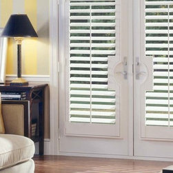 French Door Treatments This A Beautiful Eggshell Colored