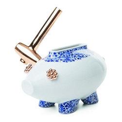 Moooi - Moooi   The Killing Of A Piggy Bank Vase - Design by Marcel Wanders, 2009.