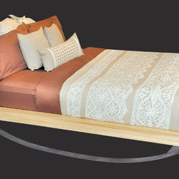 """ShinerInternational - Flex Platform Bed - The Flex Bed features a spring-like base, producing a 360 degree rocking motion. Features: -Spring-like base. -6 Months warranty. -Made in the USA. Dimensions: -Twin: 37"""" H x 49.5"""" W x 91"""" D, 115 lbs. -Full: 37"""" H x 66"""" W x 91"""" D, 200 lbs. -Queen: 37"""" H x 72"""" W x 91"""" D, 225 lbs. -King: 37"""" H x 88"""" W x 91"""" D, 260 lbs."""