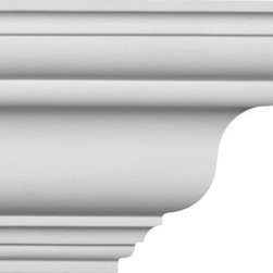 uDecor - CM-1001 Flex Crown Molding - Crown molding is manufactured with a dense architectural polyurethane compound (not Styrofoam) that allows it to be semi-flexible and 100% waterproof. This molding is delivered pre-primed for paint. It is installed with architectural adhesive and/or finish nails. It can also be finished with caulk, spackle and your choice of paint, just like wood or MDF. A major advantage of polyurethane is that it will not expand, constrict or warp over time with changes in temperature or humidity. It's safe to install in rooms with the presence of moisture like bathrooms and kitchens. This product will not encourage the growth of mold or mildew, and it will never rot.