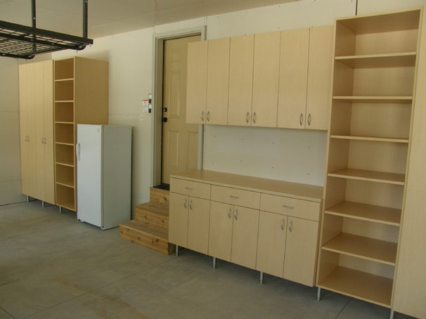 Contemporary Garage And Shed by Closets For Life