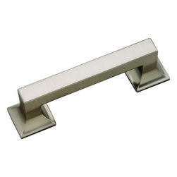 Hickory Hardware - Hickory Hardware 3 In. Studio Collection Stainless Steel Cabinet Pull - Bridges contemporary and traditional design.  Offering a deep rooted sense of history in some, with an updated feel and cleaner lines.  Crate & Barrel and Pottery Barn could be considered transitional looks.