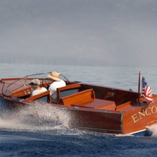 The Chris Craft Utility Used As The Image Boat For U22 Month. | Classic Boat New