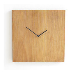 Timeless Clock - Is it five o'clock yet? You'll get to count down the final minutes of the work-week with this minimalist clock. It's made from baked elm wood with a natural wood finish, which makes it extra-durable. The numberless face makes it a timeless piece (get it?). Requires a AA battery (not included).