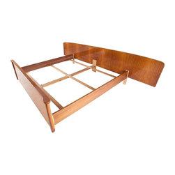 Shrunk - Consigned Mid Century Modern German Shrunk Bed - • Mid Century German Shrunk