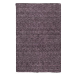 """Kaleen - Kaleen Renaissance Renaissance 5' x 7'6"""" Aubergine Rug - Renaissance is a truly unique, high fashion monochromatic collection that offers a Tibetan look but at a non-traditional price. Renaissance is hand loomed in India of only the finest 100% Virgin Seasonal Wool for years of elegant durability."""