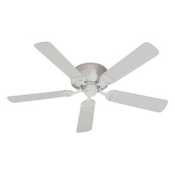 Quorum International - Medallion Studio White 52-Inch Patio Fan - -Amps: .55/.39/.21  -Fan Watts: 67/31/10  -RPM: 167/116/62  -Motor Size: 153x15  -Motor Poles: 14  -Motor Warranty: Limited Lifetime  -Motor Lead Wire: 8  -Motor Switch Type: Hi/Med/Low/Off  -Motor Reverse Type: Slide  -Five White Blades  -Blade Sweep: 52  -Arm Pitch: 14  -Ceiling to Lower Edge of Blade: 7.4  -Fan Housing Width: 11.81  -Optional remote control available.  See companioned items to order. Quorum International - 151525-8