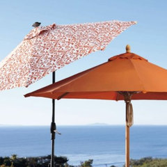 contemporary outdoor umbrellas by FRONTGATE