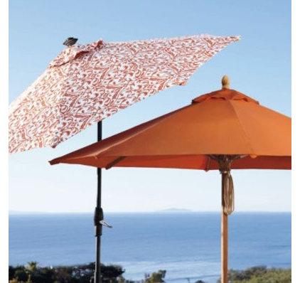 Contemporary Outdoor Umbrellas by FRONTGATE