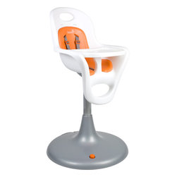 Flair, Pedestal Highchair with Pneumatic Lift - This isn't the smallest high chair, but it does look comfortable.