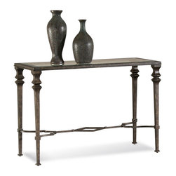 Bassett Mirror Company - Bassett Mirror T1210-400 Lido Console Table - Traditional Rectangular Console Table in Burnished Bronze Finish on Metal belongs to Lido Collection by Bassett Mirror Company Bassett Mirror is fluent in this art, showing a terrific contemporary furniture that will satisfy on the one hand fans of home coziness, and on the other hand - seekers of non-standard design solutions also. One of the many strengths of the Bassett Mirror is using high quality materials for perfect embodiment of brilliant design ideas. Console Table (1)