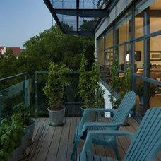 Modern Patio by Sago International