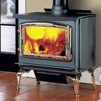 Enviro Kodiak 1200 Series 25'' x 30'' Freestanding Wood Stove - 1.85 cu. ft. firebox.