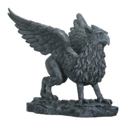 Summit - Griffin - Collectible Figurine Statue Sculpture Figure Gothic Monster - This gorgeous Griffin - Collectible Figurine Statue Sculpture Figure Gothic Monster has the finest details and highest quality you will find anywhere! Griffin - Collectible Figurine Statue Sculpture Figure Gothic Monster is truly remarkable.