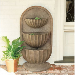 traditional indoor fountains by Ballard Designs