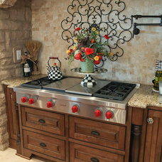 Traditional Kitchen by Julie Ranee Photography