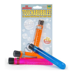Glitter Touchabubbles by Perpetual Kid - Bubbles 2.0: These bubbles actually harden, so you can touch them, roll them, stack them, etc. I love the crazy colors and glitter.