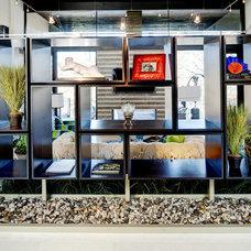 Contemporary Living Room by Cablik Enterprises