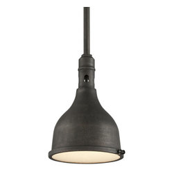 Troy Lighting - Troy Lighting F3866 Telegraph Hill 1 Light Pendant - Features: