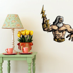 Greek God Vinyl Wall Decal GreekGodUScolor018; 72 in. - Vinyl Wall Decals are an awesome way to bring a room to life!