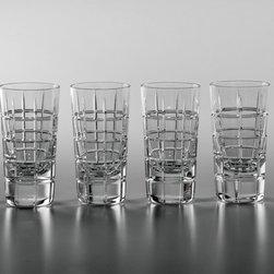 Alexander Vodka Shot Glasses, Set of 4 (beautifully gift boxed) - www.ImperialCourt.com