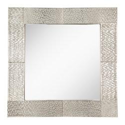 Murray Feiss - Murray Feiss Raphael Transitional Square Mirror X-LS1711RM - Murray Feiss Raphael Transitional Square Mirror X-LS1711RM