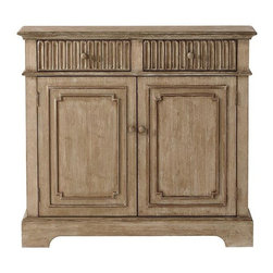 Home Decorators Collection - Manor Cabinet - Picture yourself in Provence with our Manor Cabinet. This French country-style piece of living room furniture features a washed finish and carved details that elevate it to extraordinary. 2 doors and 2 drawers. Your choice of washed finishes. Coordinates with our Manor Buffet.
