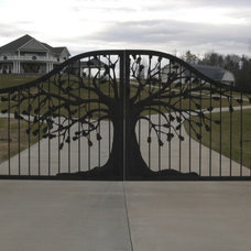 Traditional Exterior by Oak Hill Iron