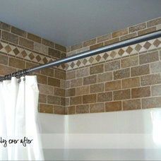 Traditional Bathroom by Jennifer@ Blissfully Ever After