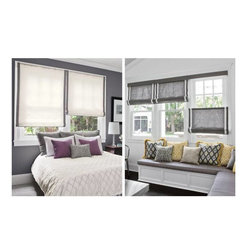 Fabric Roman Shades - smith+noble