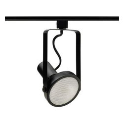 Juno - Juno Trac-Lites Open-Back Black Spotlight R534BL - Shop for Lighting & Fans at The Home Depot. The Juno Trac-Lites Open-Back Gimbal Track Light offers clean, functional lines. It provides exceptional task and accent lighting when installed on the economical Juno Trac-Lites system. It s minimum-profile and stylized-yoke design feature economical die-formed steel construction finished in black.