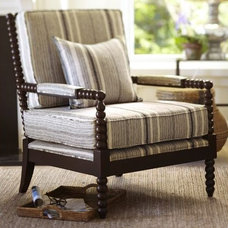 Traditional Accent Chairs by Pottery Barn