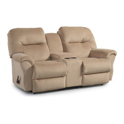 Recliner Sofa/Love Seats by Indoor and Out Furniture - Bodie Console Loveseat living room love seat available at Indoor & Out Furniture in Chandler, Arizona. Available in: Fabric, performa blend, or leather vinyl