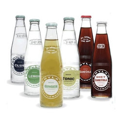Boylan Assorted Mixer 12pack - An easy way to make a dinner party look and feel more special: stock your bar with gourmet sodas. This set of mixers by Boylan come in glass bottles — I love the simple graphic labels, too.