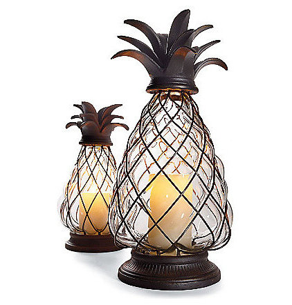 Tropical Candles And Candle Holders by FRONTGATE