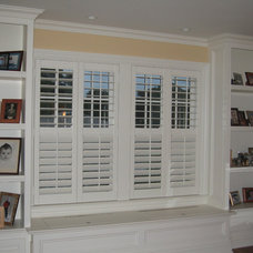 Traditional Living Room by ASAP Blinds