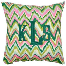 Eclectic Pillows by Luxury Monograms