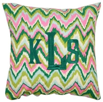 Eclectic Decorative Pillows by Luxury Monograms