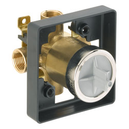Delta - Delta Commercial R10700-UNWS MultiChoice Universal Rough Valve Body - Delta R10700-UNWS Commercial Faucet Line is designed for long lasting performance. The Delta R10700-UNWS is a Multichoice Universal Valve Body With In Wall Diverter.