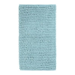 Aqua Plush Bubble Bath Mat - Add some spa-like texture to your bathroom with this plush Bubble bath mat. I'd like to step out of the shower onto this every morning.