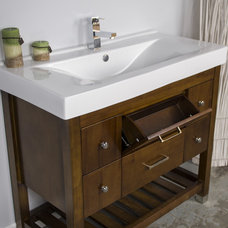 Contemporary Bathroom Vanities And Sink Consoles by modernbathrooms.ca