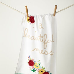 A Beautiful Mess Dish Towel - You can never have too many kitchen towels, am I right? This one is so pretty!
