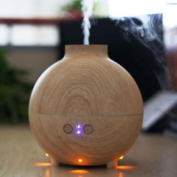 Metal Ware Corp. - SpaPro Aromatherapy Diffuser - Spa-Pro Aromatherapy Diffuser - Large capacity reservoir holds 600ml of water for 10-18 hours of operation.  Adjusts for either low or high mist output.  Offers a soothing  ambient mood lighting.  Portable water tank for easy refilling.  Safety system: automatic shut off when water is empty.  Add liquid aromatic scents to the water for therapy needs (optional).  Offered in an imitation white oak finish.  For use in therapeutic atmosphere or home use.  This item cannot be shipped to APO/FPO addresses. Please accept our apologies.