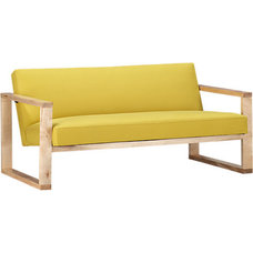 modern love seats by CB2