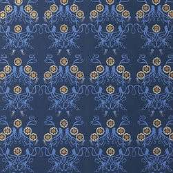 Octopus Garden Wallpaper - Nothing makes a space cozy faster than some strategically placed wallpaper.  I'd put this whimsical, rich pattern on a single wall to create instant intimacy.