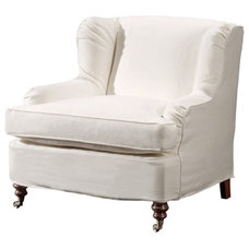 Contemporary Armchairs by Barclay Butera Interiors
